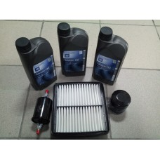 Ulei motor+filtre Matiz