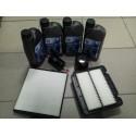 Ulei motor+filtre Aveo/Kalos1,4